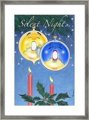 Si O Lent Night Framed Print