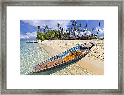 Sibuan Island Framed Print by Photography By Spintheday