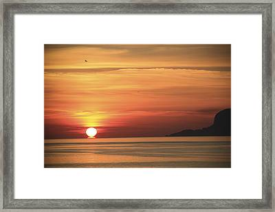 Sicilian Sunrise Framed Print