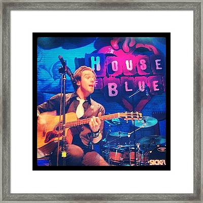 Sick Puppies At The New Orleans House Of Blues Framed Print