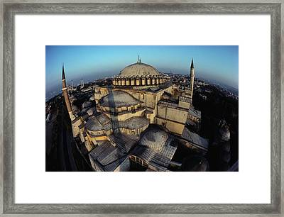 Side Domes And Minarets Gather Framed Print by James L. Stanfield