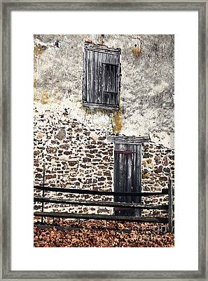 Side Entrance Framed Print by John Rizzuto