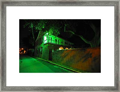 Side Street Framed Print by Peter  McIntosh