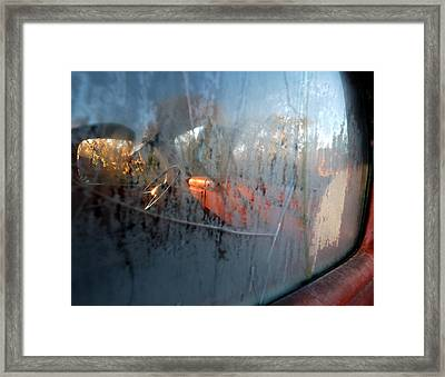 Side View Into The Past Framed Print by Steven Milner