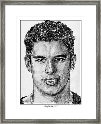 Sidney Crosby In 2007 Framed Print
