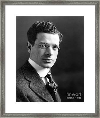 Sidney Hillman (1887-1946) Framed Print