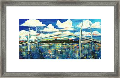 Sidney Lanier Bridge Framed Print