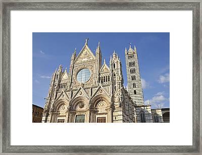 Siena Cathedral - Duomo Santa Maria Assunta Framed Print by Matthias Hauser