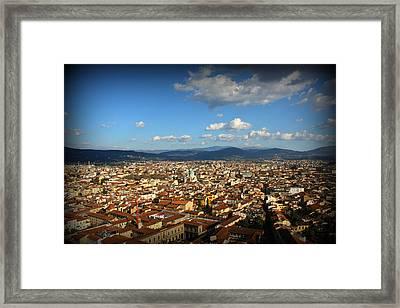 Siena Scenery Framed Print by Kevin Flynn