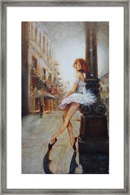 Sienna Framed Print by Caroline Anne Du Toit