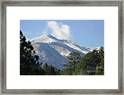 Sierra Blanca Clouds 3 Framed Print