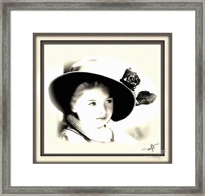 Sierra Framed Print by Michelle Frizzell-Thompson