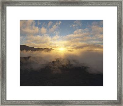 Sierra Sunrise Framed Print