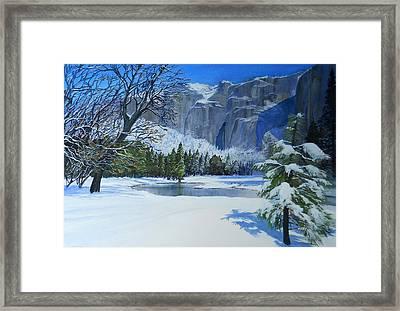 Sierra Winter Framed Print by Robert Duvall