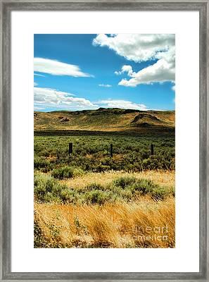 Sierraville Ca Framed Print