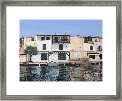 Sieste Framed Print by Carina Mascarelli