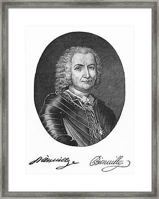 Sieur De Bienville (1680-1747) Framed Print by Granger