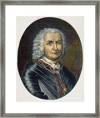 Sieur De Bienville Framed Print by Granger