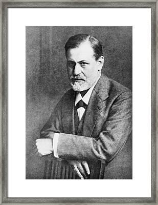 Sigmund Freud 1856-1939, At Age 45 Framed Print by Everett