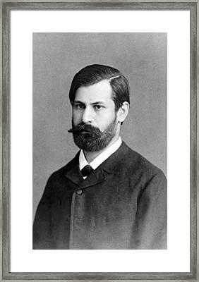 Sigmund Freud 1856-1939, In 1885, When Framed Print by Everett