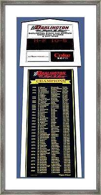 Sign Of Champions Framed Print by DigiArt Diaries by Vicky B Fuller