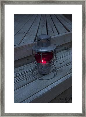Framed Print featuring the photograph Signal Beacon by Cheri Randolph