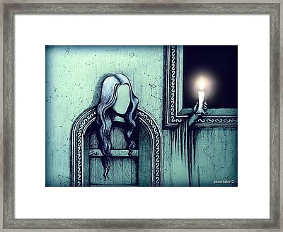 Signs Indicate The Way Of Revelation Framed Print by Paulo Zerbato