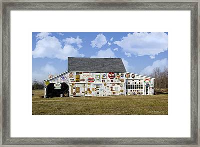 Signs Of The Times Framed Print by Brian Wallace