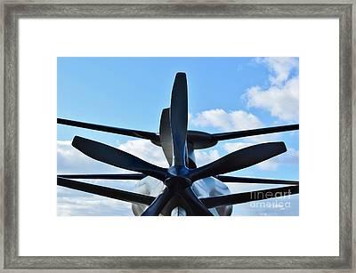 Sikorsky X2 Demonstrator Model Framed Print by Lynda Dawson-Youngclaus
