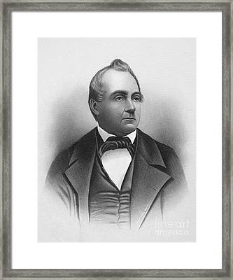 Silas Wright (1795-1847) Framed Print by Granger