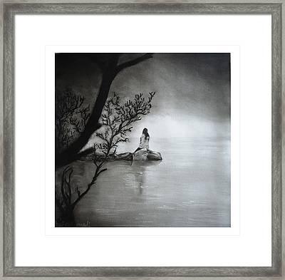 Silence Framed Print