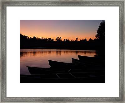 Framed Print featuring the photograph Silence Of Lake Bradley Reflections by Cindy Wright