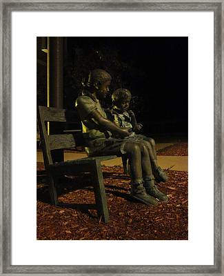 Silent Children Framed Print by Guy Ricketts