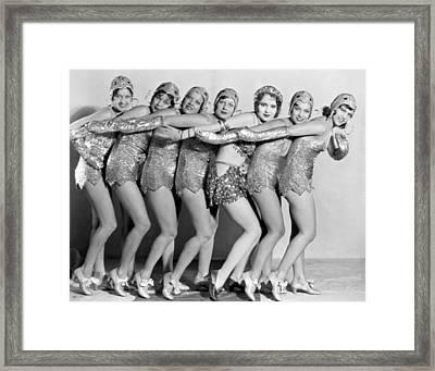 Silent Film Stilll: Women Framed Print by Granger