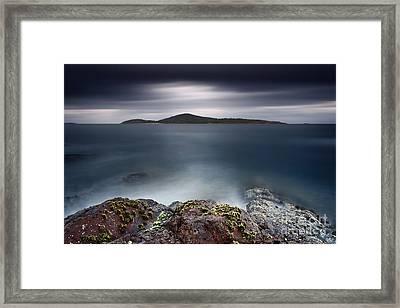 Silent Shores Framed Print by Michael Howard