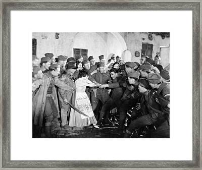 Silent Still: Army & Navy Framed Print by Granger