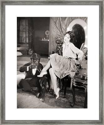 Silent Still: Legs Framed Print by Granger