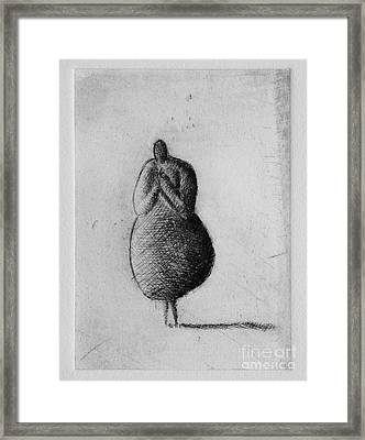 Silent Framed Print by Valdas Misevicius
