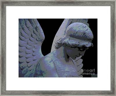 Silent Visitor Framed Print