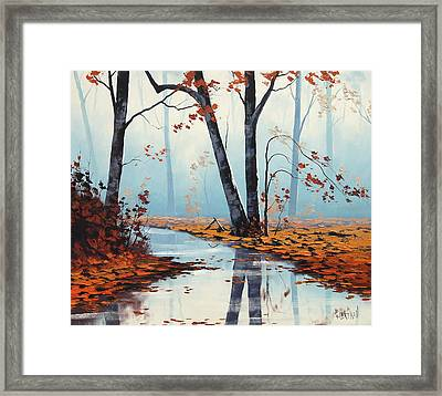 Silent Woods Framed Print