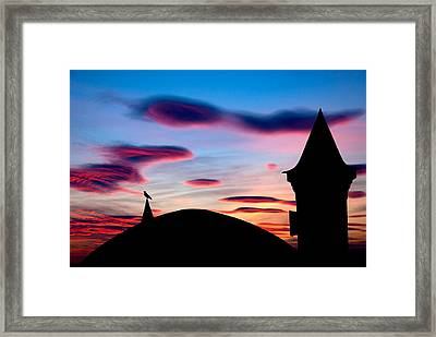 Framed Print featuring the photograph Silhouette by Okan YILMAZ