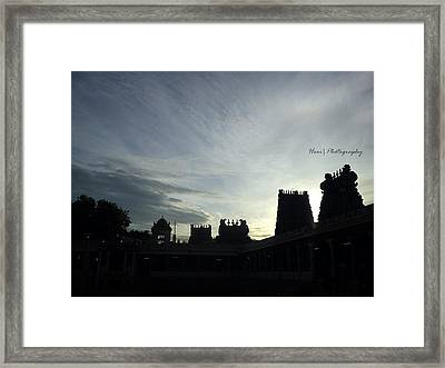 Silhouette Photography Framed Print by Hari Ram