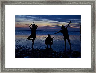 Silhouette Therapy Framed Print by Snow White