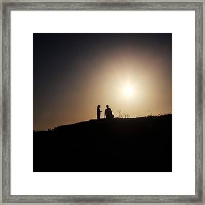 Silhouettes Framed Print by Joana Kruse