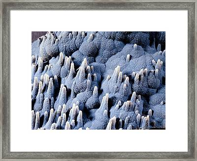 Siliceous Formations Framed Print by Dirk Wiersma