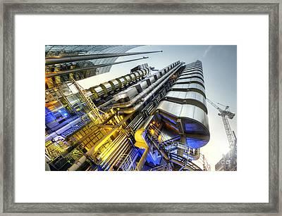Silk And Steel 2.0 Framed Print by Yhun Suarez
