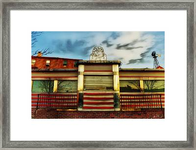 Silk City Lounge Framed Print by Bill Cannon