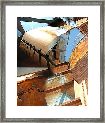 Siloh Climb Framed Print