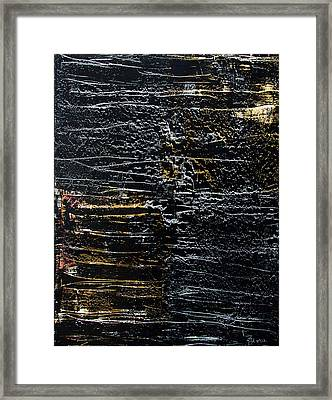 Silver And Gold Framed Print by Terrance Prysiazniuk