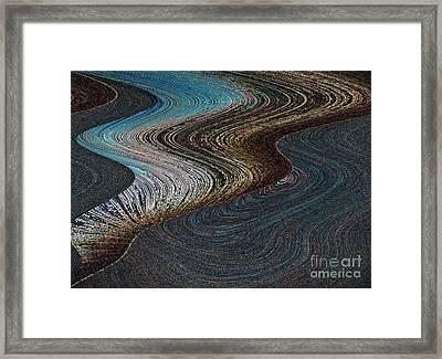 Framed Print featuring the photograph Silver Bay by Ausra Huntington nee Paulauskaite